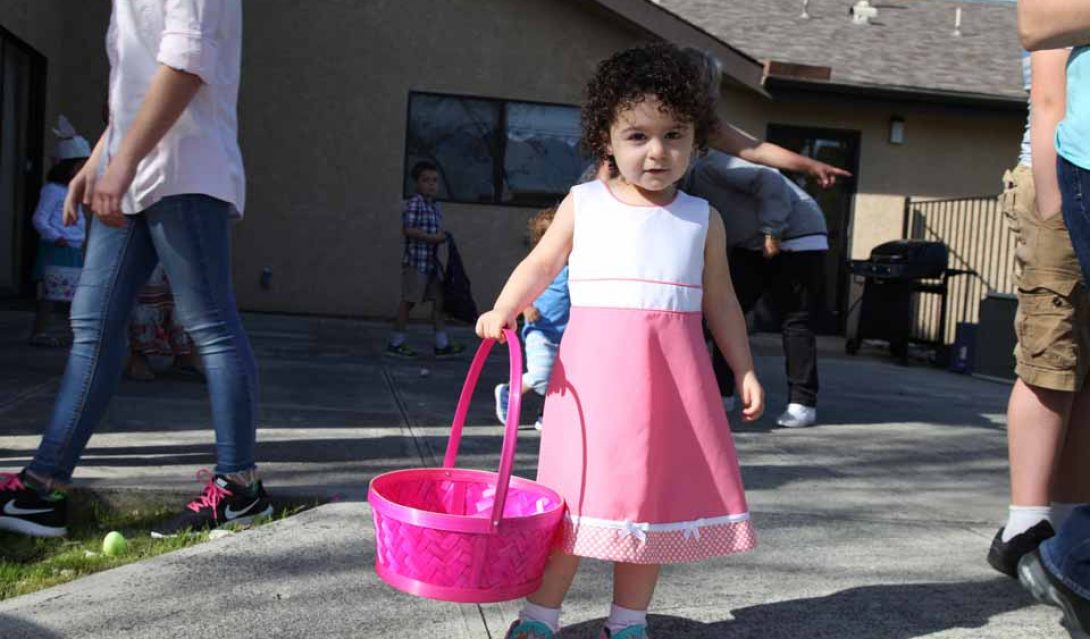 Easter Egg Hunt at Atascadero United Methodist Church