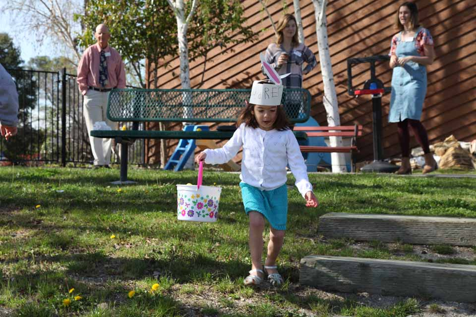 Easter Egg Hunt at Atascadero United Methodist Church