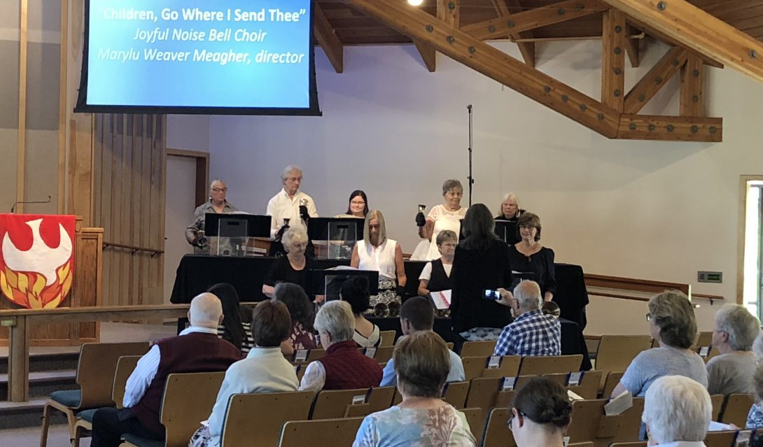 Atascadero United Methodist Church Joyful Noises Bell Choir